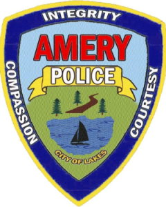 Amery Police Department Logo 55