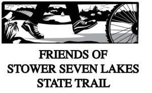 Friends of Stower Seven Lakes State Trail Logo